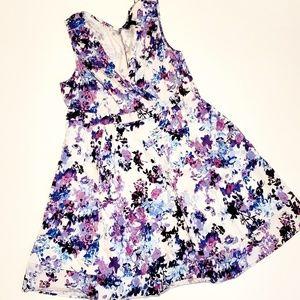 Lane Bryant Floral Swing Dress - 20